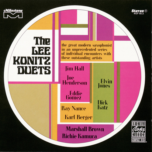 The Lee Konitz Duets by Lee Konitz