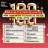 100 Masterpieces, Vol.2 - The Top 10 Of Classical Music: 1731 - 1775 by Various Artists
