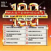 100 Masterpieces, Vol.3 - The Top 10 Of Classical Music: 1776 - 1787 by Various Artists
