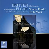 Britten - Cello Symphony / Elgar - Cello Concerto by Sir Simon Rattle