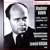 Vladimir Bunin. Violin Concerto, Symphony No.2 by Various Artists