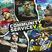 CoopDVille & Siccness.net Present Community Service, Vol. 2 by Various Artists
