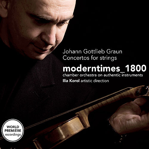 Graun: Concertos for Strings by Moderntimes_1800