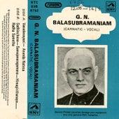 G.N.Balasubramantam by G.N Balasubramaniam
