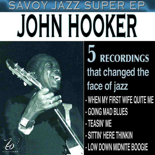 Savoy Jazz Super EP by John Lee Hooker