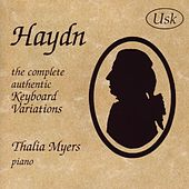 Haydn: The Complete Authentic Keyboard Variations by Thalia Myers