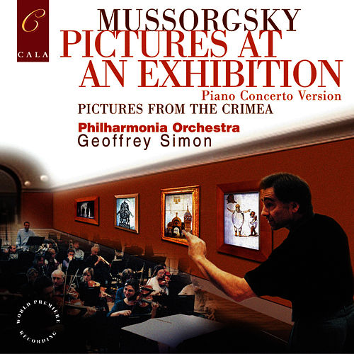 Mussorgsky: Pictures at an Exhibition (Piano Concerto version), Pictures from Crimea by Philharmonia Orchestra