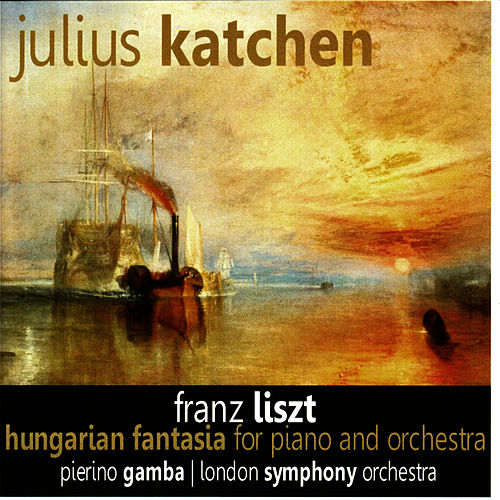 Liszt: Hungarian Fantasia for Piano and Orchestra by Julius Katchen