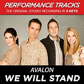 We Will Stand (Premiere Performance Plus Track) by Avalon