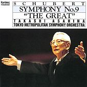 Schubert Symphony No.9 ''The Great'' by Tokyo Metropolitan Symphony Orchestra