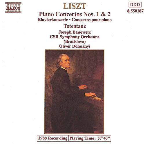Piano Concertos Nos. 1 and 2 by Franz Liszt