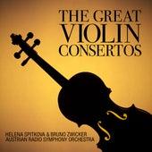 The Great Violin Concertos: Sibelius, Mendelssohn, Bruch and Prokofiev by Various Artists
