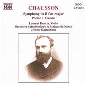 Symphony, Op. 20/Poeme/Viviane by Ernest Chausson
