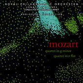 Mozart: Piano Quartets 1 & 2 by Royal Philharmonic Chamber Ensemble