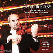 Glenn Dicterow plays Bernstein, Martinů, Korngold and Corigliano by Glenn Dicterow