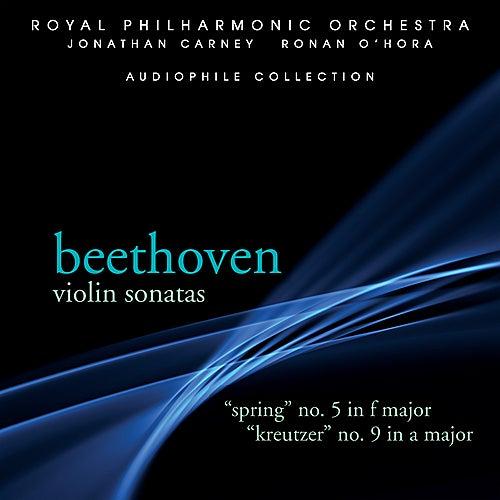 Beethoven: Violin Sonatas 5 & 9 by Jonathan Carney
