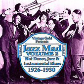 Jazz Mad Vol. 2: Hot Dance, Jazz and Instrumental Blues 1926-1930 by Various Artists