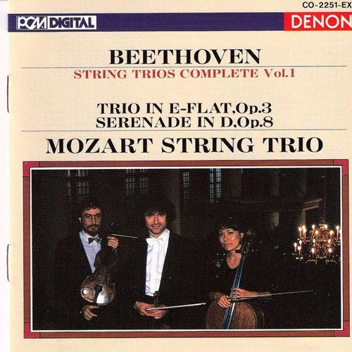Ludwig Van Beethoven: String Trios by Mozart String Trio