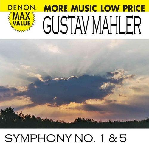 Mahler: Symphonies No. 1 & 5 by Radio-Sinfonie Orchestra Frankfurt