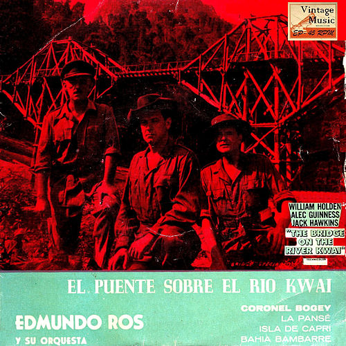 Vintage Dance Orchestras Nº 66 - EPs Collectors 'The Bridge On The River Kwai' by Edmundo Ros