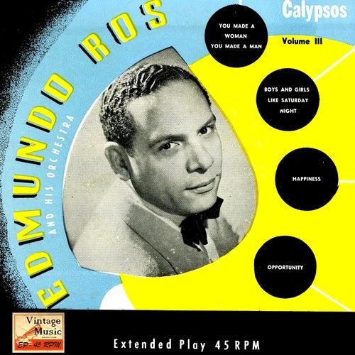 Vintage Dance Orchestras Nº 67 - EPs Collectors 'Edmundo Ros Sing Calypsos' by Edmundo Ros
