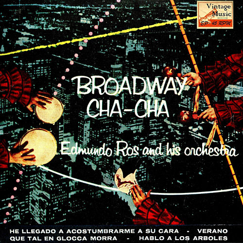 Vintage Dance Orchestras Nº 69 - EPs Collectors 'Broadway Cha Cha' by Edmundo Ros