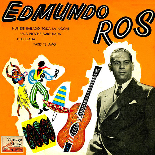 Vintage Dance Orchestras Nº 73 - EPs Collectors 'Edmundo Ros En Broadway' by Edmundo Ros