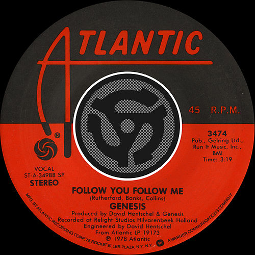 Follow You Follow Me by Genesis