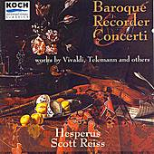 Baroque Recorder Concerti by Various Artists