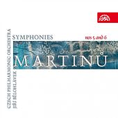 Martinu: Symphonies Nos 5 and 6 by Czech Philharmonic Orchestra