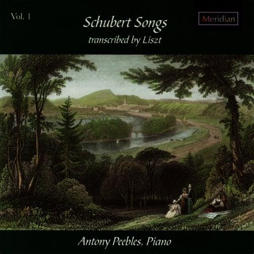 Schubert: Schubert Songs Vol. 1, Transcribed By Liszt by Antony Peebles