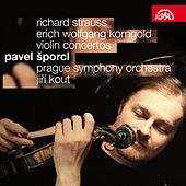 Strauss / Korngold: Violin Concertos by Pavel Sporcl