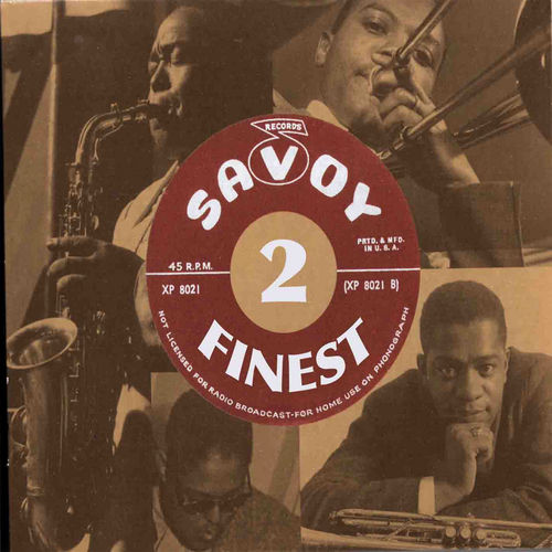 Savoy's Finest Volume 2 by Various Artists