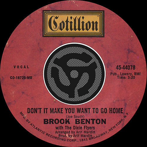 Don't It Make You Want To Go Home / I've Gotta Be Me [Digital 45] by Brook Benton