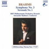 Symphony No. 3 / Serenade No. 1 by Johannes Brahms