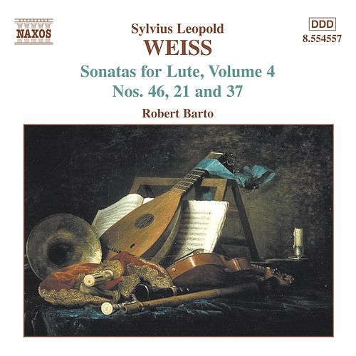 Sonatas for Lute, Volume 4, Nos. 21, 37 and 46 by Sylvius Leopold Weiss