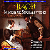 Bach Inventions And Sinfonias, BWV 772 - 801 by Johann Sebastian Bach