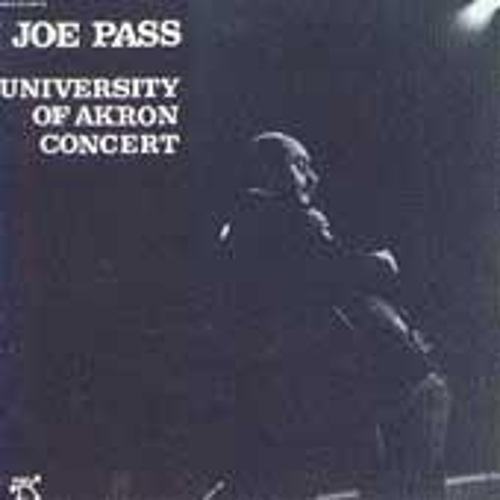 University Of Akron Concert by Joe Pass