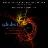 Schubert: Impromptus by Ronan O'Hora (piano)