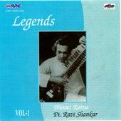 Legends-Bharat Ratna Pt.Ravi Shankar Vol 1 by Various Artists