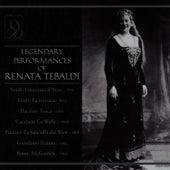 Legendary Performances of Renata Tebaldi by Renata Tebaldi