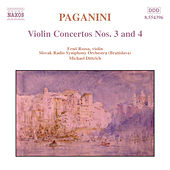 Violin Concertos Nos. 3 and 4 by Nicolo Paganini