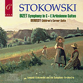 Bizet: Symphony in C, L'Arlésienne Suites - Debussy: Children's Corner Suite by Leopold Stokowski