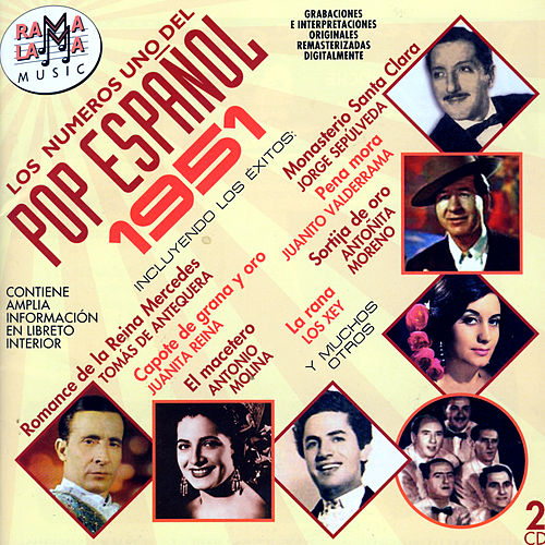 Los Números Uno Del Pop Español 1951 by Various Artists