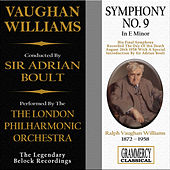 Vaughan Williams: Symphony No. 9 In E Minor by London Philharmonic Orchestra