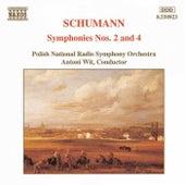 Symphonies Nos. 2 and 4 by Robert Schumann