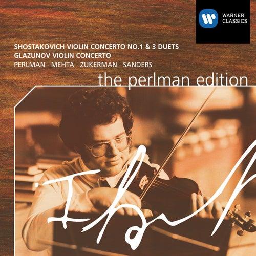 Shostakovich / Glazunov: Violin Concertos by Various Artists
