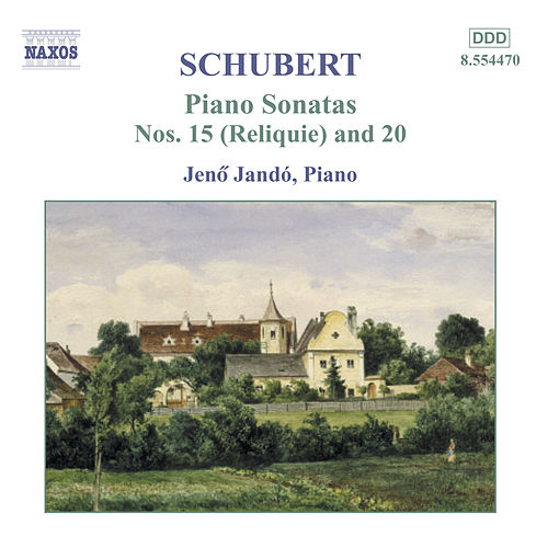 Piano Sonatas Nos. 15 & 20 by Franz Schubert