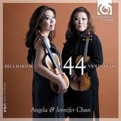 Bartók: 44 Violin Duos by Angela Chun