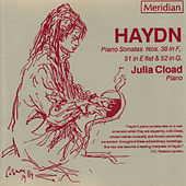 Haydn: Piano Sonatas #38, #51, & #52 by Julia Cload